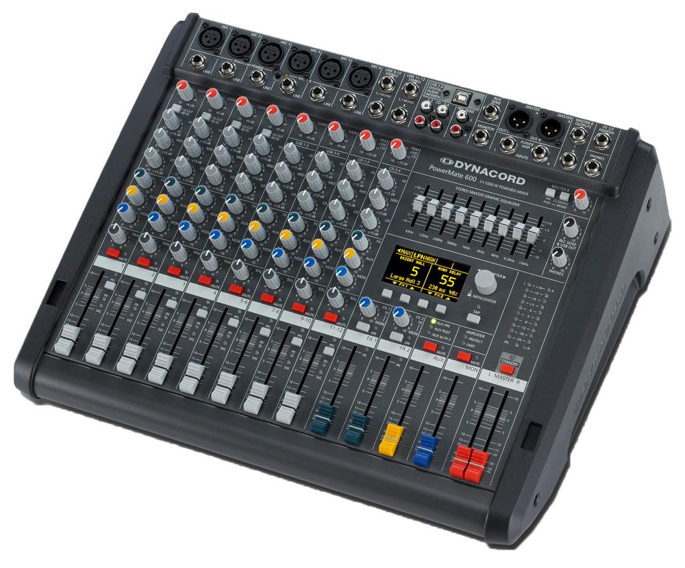 Mixer profesional amplificat Behringer Europwer PMP 6000.